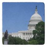 Capitol Building in Washington DC Trivet