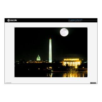 "Capitol Building, Lincoln Memorial, Washington 15"" Laptop Skins"