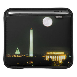 Capitol Building, Lincoln Memorial, Washington iPad Sleeve