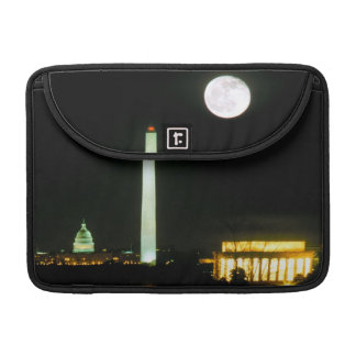 Capitol Building, Lincoln Memorial, Washington Sleeve For MacBook Pro