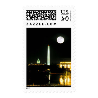 Capitol Building, Lincoln Memorial, Washington Postage