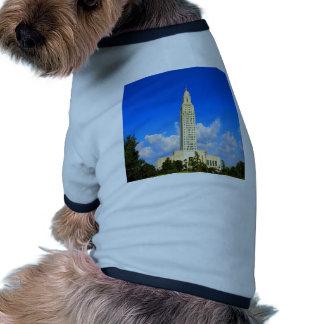 capitol building louisiana baton rouge government dog clothing