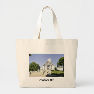 Capitol Building Madison WI Bag