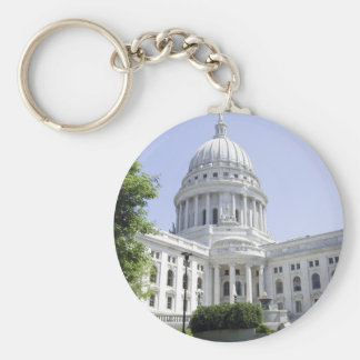 Capitol Building Madison WI Keychain