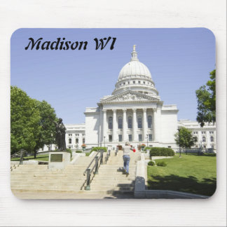 Capitol Building Madison WI Mouse Pad