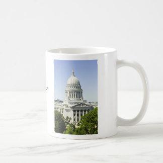 Capitol Building Madison WI Mugs