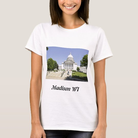 Capitol Building Madison WI T-Shirt