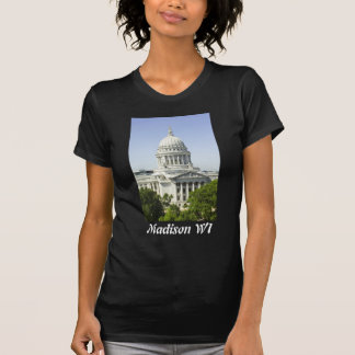 Capitol Building Madison WI T Shirts
