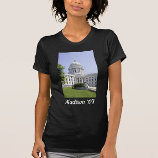 Capitol Building Madison WI Tee Shirts