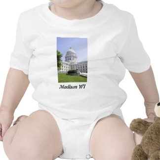 Capitol Building Madison WI Rompers