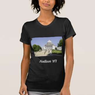 Capitol Building Madison WI Tee Shirt