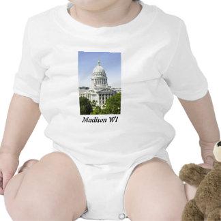 Capitol Building Madison WI Bodysuits