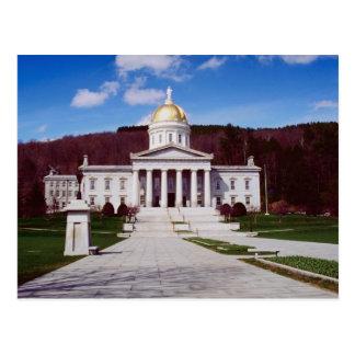 Capitol building, Montpelier, Vermont, U.S.A. Postcard