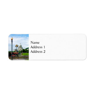 Capitol Building Seen from Waterplace Park Custom Return Address Labels