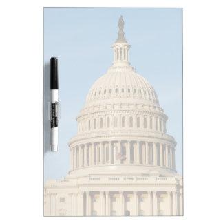 Capitol Building shot at dusk Dry Erase Board