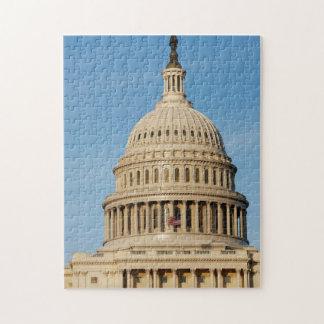 Capitol Building shot at dusk Jigsaw Puzzle