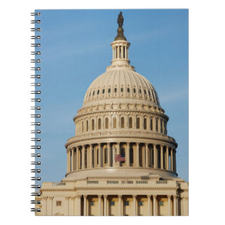 Capitol Building shot at dusk Spiral Note Book
