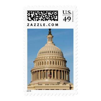 Capitol Building shot at dusk Postage Stamp