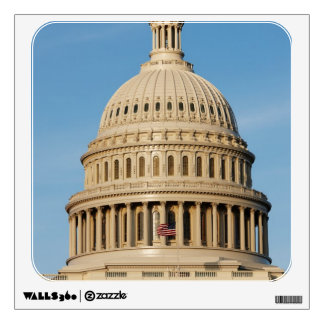 Capitol Building shot at dusk Wall Sticker
