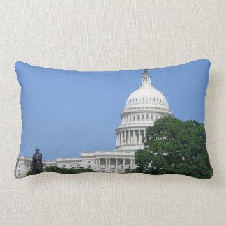 Capitol Building US Government in Washington DC Lumbar Pillow