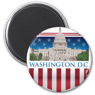 Capitol Building - Washington DC Magnet