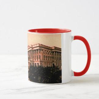 Capitol Building Washington DC Murica America 1900 Mug