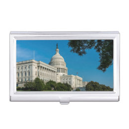 Government business card holders cases zazzle capitol building west view case for business cards reheart Choice Image