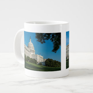 Capitol Building West View Giant Coffee Mug