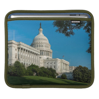 Capitol Building West View Sleeve For iPads