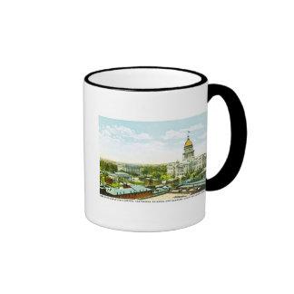 Capitol Centennial Building, Springfield, Illinois Ringer Mug