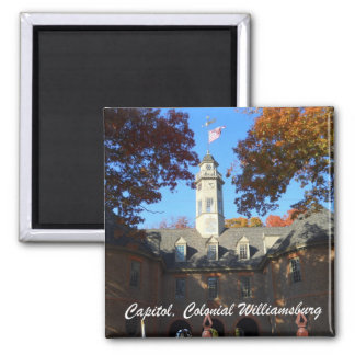 Capitol, Colonial Williamsburg Refrigerator Magnets