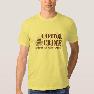 Capitol Crime Tshirt