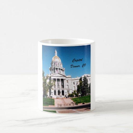 Capitol, Denver, CO Mugs