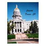 Capitol, Denver, CO Postcard
