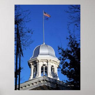Capitol Dome, Carson City Print