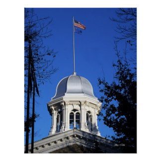 Capitol Dome, Carson City Poster