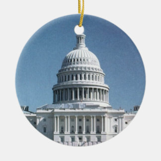 Capitol Dome Crop from jpg Christmas Tree Ornament