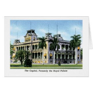 Capitol, Formerly Royal Palace, Idaho Greeting Cards