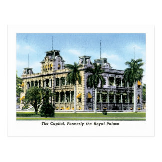 Capitol, Formerly Royal Palace, Idaho Postcard