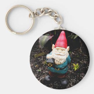 Capitol Garden Gnome Basic Round Button Keychain