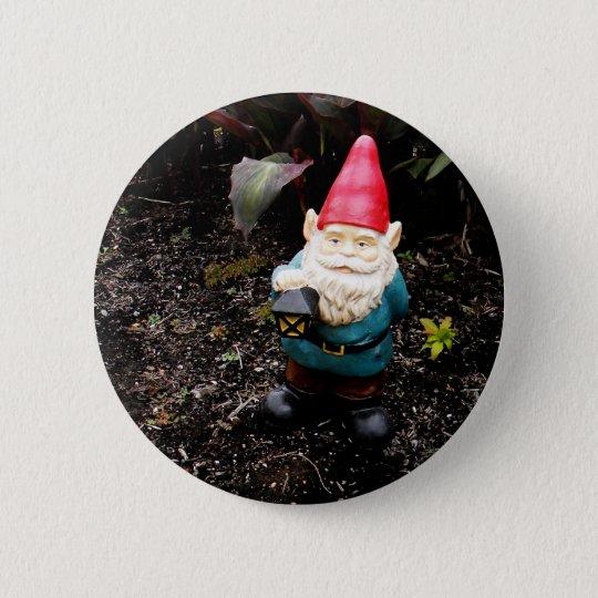 Capitol Garden Gnome Pinback Button
