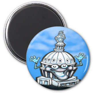 Capitol Hill 2 Inch Round Magnet
