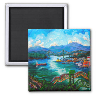 Capitol Hill 2 Inch Square Magnet