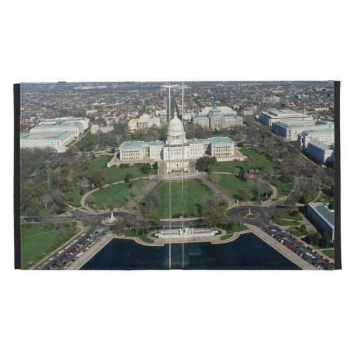 Capitol Hill Aerial Photograph 2 iPad Folio Cover