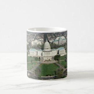 Capitol Hill Aerial Photograph 2 Coffee Mug