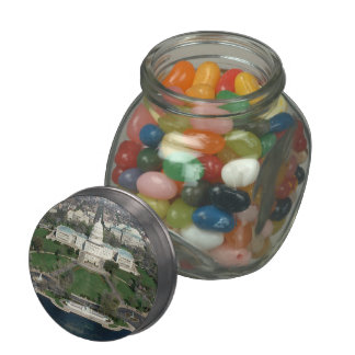 Capitol Hill Aerial Photograph 2 Jelly Belly Candy Jar