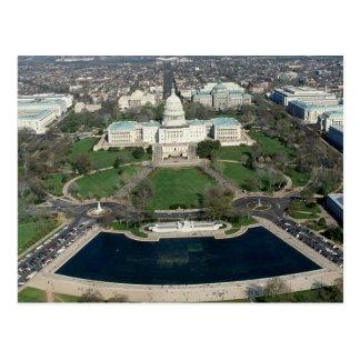 Capitol Hill Aerial Photograph 2 Postcard