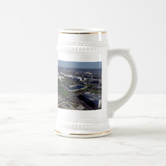Capitol Hill Aerial Photograph Beer Stein