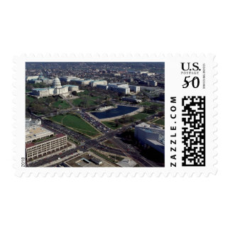 Capitol Hill Aerial Photograph Postage
