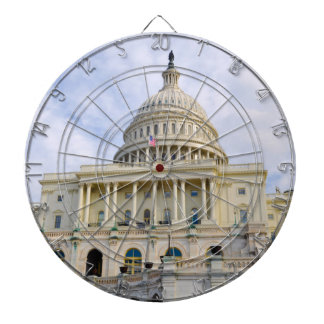 Capitol Hill Building in Washington DC Dart Board